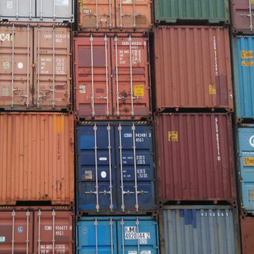 20ft Seecontainer, gebraucht